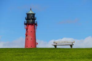 Spazieren am Strand von Texel