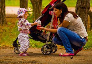 Mieten einem Kinderkarren oder Kinderwagen in Julianadorp